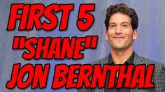 WALKING DEAD - SHANE - Jon Bernthal - FIRST FIVE TV AND MOVIE APPEARANCES