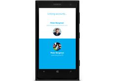 Skype Windows Phone app updated, allows users to sign up with Microsoft accounts.