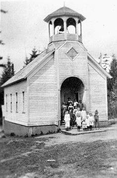 Bee Tree School, pictured here in the 1920s, was among dozens of small schools absorbed by the Battle Ground School District.