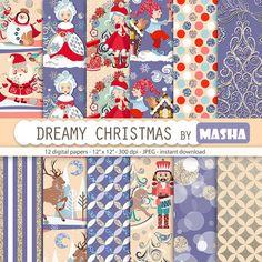 Felicitaciones, ilustraciones y clip-art navideños, láminas y cuadros, objetos para decorar... Un poco de todo, recursos e ideas para inspirarnos.