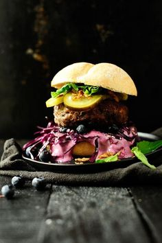 Beef burger with a surprisingly delicious spiced up blueberry sauce! This is the perfect comfort food weekend recipe! As the most of you know, I opened a food truck three years ago and every year i'm making new dishes and some of them I showed you before ( you can follow me on Instagram for more stories). The first year it was the smoked salmon salad with blueberry vinaigrette or quinoa with sheep cheese, year two it were the pulled beef tacos with blueberry coleslaw. This year I made ...