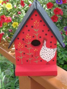 Nice 65+ Cool Birdhouse Design Ideas To Make Birds Easily to Nest in Your Garden http://goodsgn.com/gardens/65-cool-birdhouse-design-ideas-to-make-birds-easily-to-nest-in-your-garden/