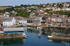 Mevagissey harbour, Mevagissey, near Gorran Haven, St Austell, South Cornwall