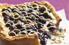 Fruity tart: A quick and easy cherry tart made using frozen fruits so you can enjoy this creamy recipe for dessert all year round. Tart Recipes, Dessert Recipes, Desserts, Leftover Lamb Recipes, Fillet Steak Recipes, Risotto Dishes, Quick Pasta Recipes, Cherry Tart, Biscuit Recipe