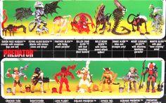 linea di giocattoli horror ispirati ai film Aliens e Predator della Kenner