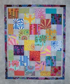 Quilting: Color makes me happy