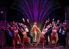 Sutton Foster and cast in the 2011 revival of Anything Goes