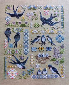Just Cross Stitch, Cross Stitch Animals, Cross Stitch Charts, Cross Stitch Designs, Cross Stitch Patterns, Crewel Embroidery, Cross Stitch Embroidery, Embroidery Patterns, Cross Stitch Samplers
