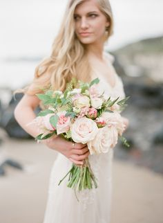 love and the shoreline | www.paulaohara.com | flowers by floralearth | styling by Alise Taggart | dresses by Ivory&Pearl