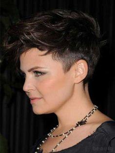 16. Undercuts Pixie Cuts for Badass Women                                                                                                                                                      More