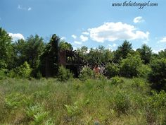 Ruins of the Cranberry Storage Building @ Whitesbog Village, Browns Mills, NJ.