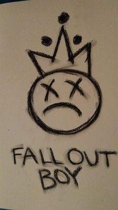 Fall Out Boy sign from Death Valley