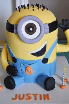 Belinda: Baked by Belinda | Despicable Me minion birthday cake