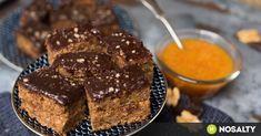 """Gyors bögrés """"zserbó"""" recept képpel. Hozzávalók és az elkészítés részletes leírása. A gyors bögrés """"zserbó"""" elkészítési ideje: 60 perc Hungarian Desserts, Vegan Desserts, Cake Cookies, My Recipes, Nutella, Delish, Biscuits, Sweets, Snacks"""