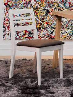 www.cordelsrl.com    #chair #wooden #linear #handmade