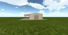 3D #architecture via @themuellerinc http://ift.tt/2pxzPVl #barn #workshop #greenhouse #garage #DIY