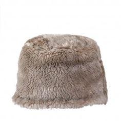 Beige Cossack Fur Cap