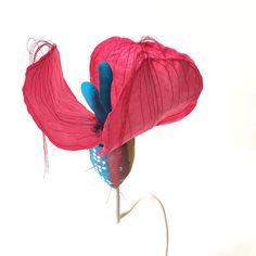 "Malika Pink Night, closing, ""Manic Flowers""by Cecile Noldus"