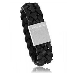 Bracelet Streak cuir noir - Police Trendy Bracelets, Black Bracelets, Bracelets For Men, Leather Men, Police, Collection, Man Bracelet, Male Jewelry, Nice Jewelry