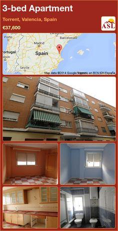 3-bed Apartment in Torrent, Valencia, Spain ►€37,600 #PropertyForSaleInSpain