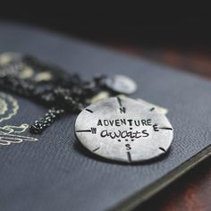 #Camille #Mom Adventure Awaits Travel Inspired Necklace | Speakeasy Travel Supply Co.