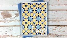 Moroccan Mosaic card | Clips-n-Cuts
