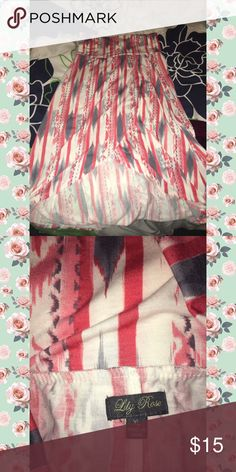Lily Rose hi low maxi skirt xl Lily Rose hi low maxi skirt xl Lily Rose Skirts High Low