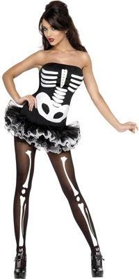 Skeleton Costume | allfancydress.com - StyleSays