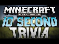 TEN SECOND TIMED TRIVIA!!!! - Awesome Trivia Map - Minecraft Pocket Edition - http://dancedancenow.com/minecraft-lan-server/ten-second-timed-trivia-awesome-trivia-map-minecraft-pocket-edition/