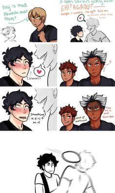 "don't go overboard - haikyuu! Akashi getting hit on .and bokuto fixing the problem. >> HAHAHA ""i want to get hit on by someone other than kuroo"" Kagehina, Bokuto X Akaashi, Kuroo, Iwaoi, Haikyuu Funny, Haikyuu Ships, Haikyuu Fanart, Haikyuu Volleyball, Volleyball Anime"