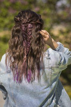 Braids, Bubbles & Buns - Festivalfrisuren Must-haves Coachella, Braids, Bubbles, Dreadlocks, Hair Styles, Inspiration, Beauty, Fashion Styles, Braid