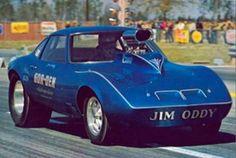 Jim Oddy's Opel GT Gasser