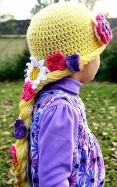 crochet Rapunzel hair