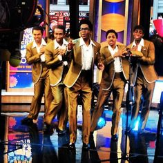 BBR client, Donald Webber Jr. performing on Good Morning America as a member of The Temptations! Looking good fella's!