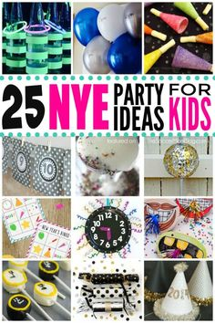 Spending NYE at home as a family? Grab this list of easy and exciting ideas and activities to rock New Year's Eve with Kids! Spending NYE at home as a family? Grab this list of easy and exciting ideas and activities to rock New Year's Eve with Kids! New Years With Kids, Kids New Years Eve, New Years Party, New Years Eve Party Ideas For Family, New Year's Eve Crafts, Crafts For Kids, Nye Games, Party Games, New Year's Eve Activities