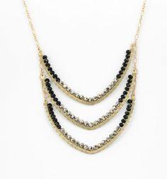 Fotini Designs Triple Chevron Necklace | eBay- Part of Martha Stewart American Made market @Martha Stewart Living