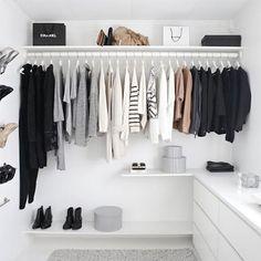4 Ways to avoid always wearing the same clothes.  #clean #organized #wardrobe