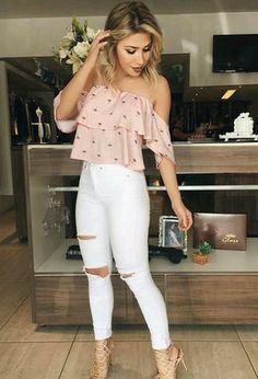 Look by @soududaa with #casual #party #jeans #primavera #chic #croptops #shopping #verão #sandalia #looks #acessorios #youtuber #día #trabalho #faculdade #outono #bolsa #blogueira #alternativo #escola.