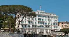 The Art Nouveau building gleams white in the sun amid century-old gardens. But for all of the grandeur, what most seduces are the intimate and almost down-home touches. Owner Andrea Fustinoni affectionately calls the hotel the Mira, which speaks to the feeling of being welcomed into a private residence. Each of the 36 deluxe rooms has a sea view, while the 26 superior rooms all have balconies or patios overlooking the hotel's gardens as they rise toward the foothills of Mount Portofino. Best Hotels, Hotels And Resorts, Luxury Hotels, Santa Margherita Ligure, Luxury Collection Hotels, Destinations, Destination Voyage, Grand Hotel, Hotel Reviews