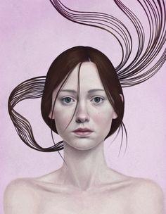 """""""350″ (2016) By Diego Fernández #illustrator Arte digital"""