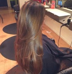 pretty hair color - long hair