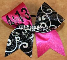 Cheer Bow on Etsy, $14.50