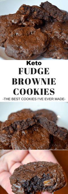 Fudgey Keto Brownie Cookies!!! - 22 Recipe