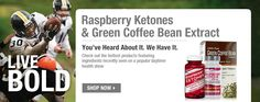 "Raspberry Ketones & Green Coffee Extract are being hailed as ""miracle"" fat burners - GNC - $15.99 and up"