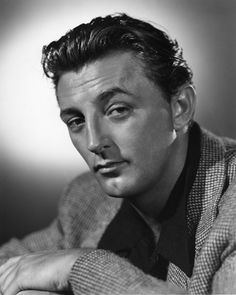 Robert Mitchum,..he was my heart throb..even my ex knew that !!