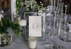 K.L.W. Floral Design Co. | Connecticut Wedding at Saltwater Farm Vineyard . Floral Design and rentals by K.L.W. Floral Design Co. of Waterford, Connecticut.