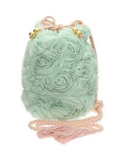 Mint rose bag (website in Japanese)