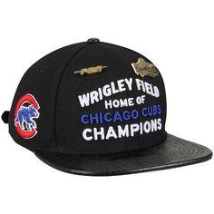 1395a048bd4 Pro Standard Chicago Cubs Wrigley Field MLB Logo Strapback Hat