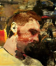 Adrian Ghenie, Self-Portrait No. 4 | 2010 | Oil on canvas