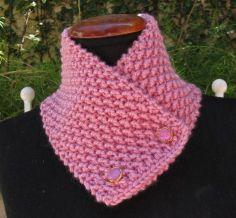 free crochet neck warmer patterns | Free Knitting Pattern Neck Warmer – Catalog of Patterns